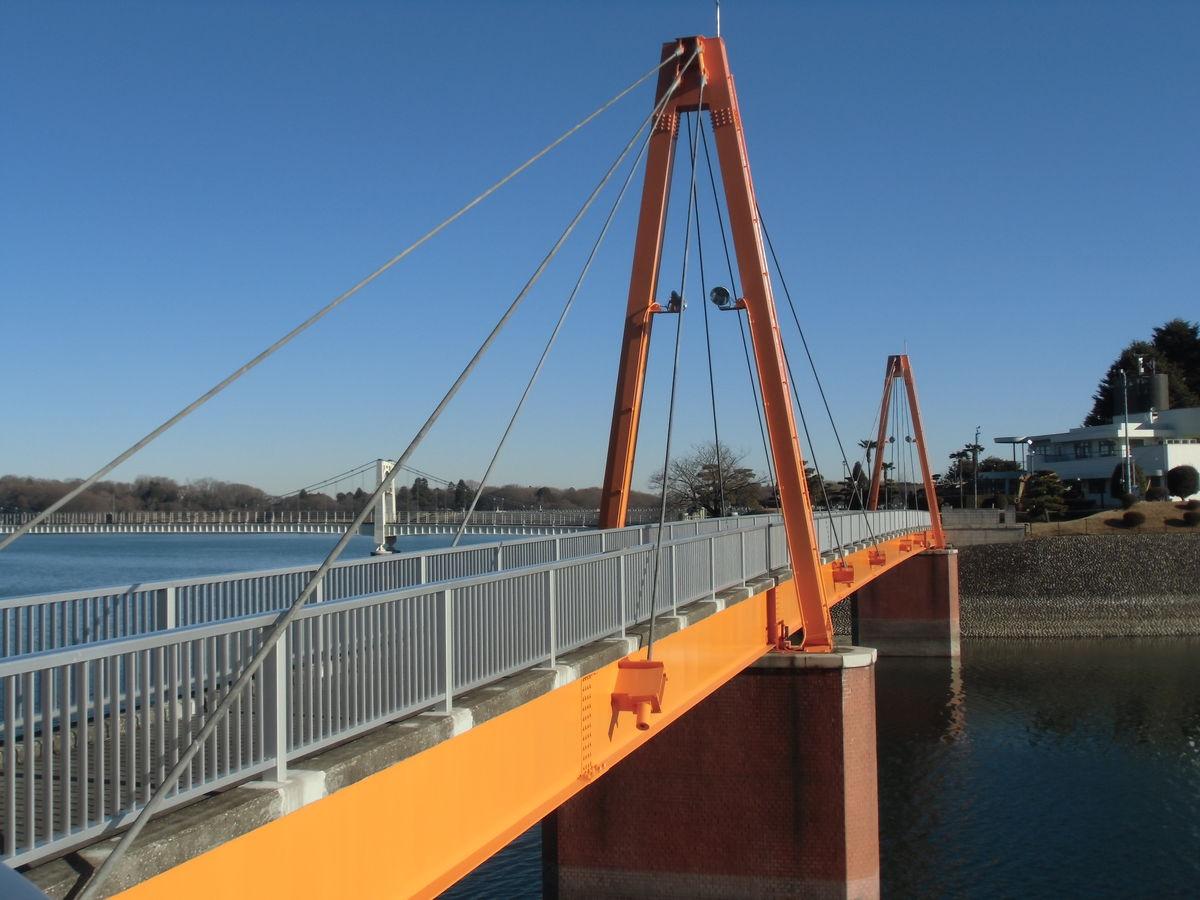 山口貯水池第2取水塔管理橋塗装工事