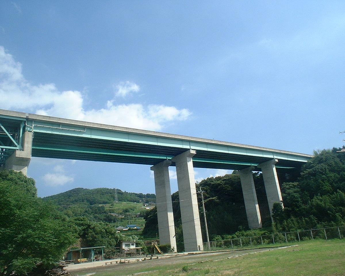 長崎自動車道江の串川橋塗替塗装工事