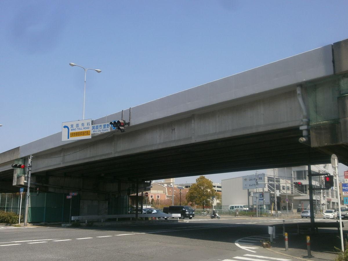 一般国道423号線萱野高架橋剥落防止塗装工事