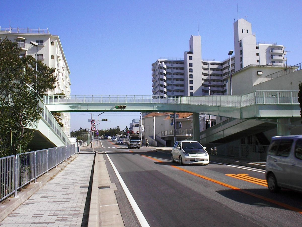 28号中崎歩道橋塗装補修工事