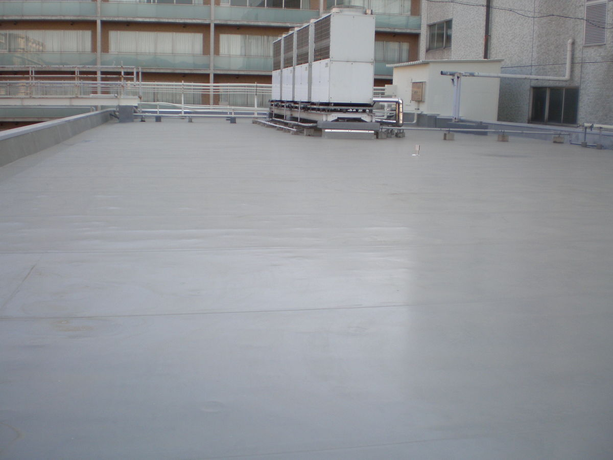 大商学園2号館屋上防水工事