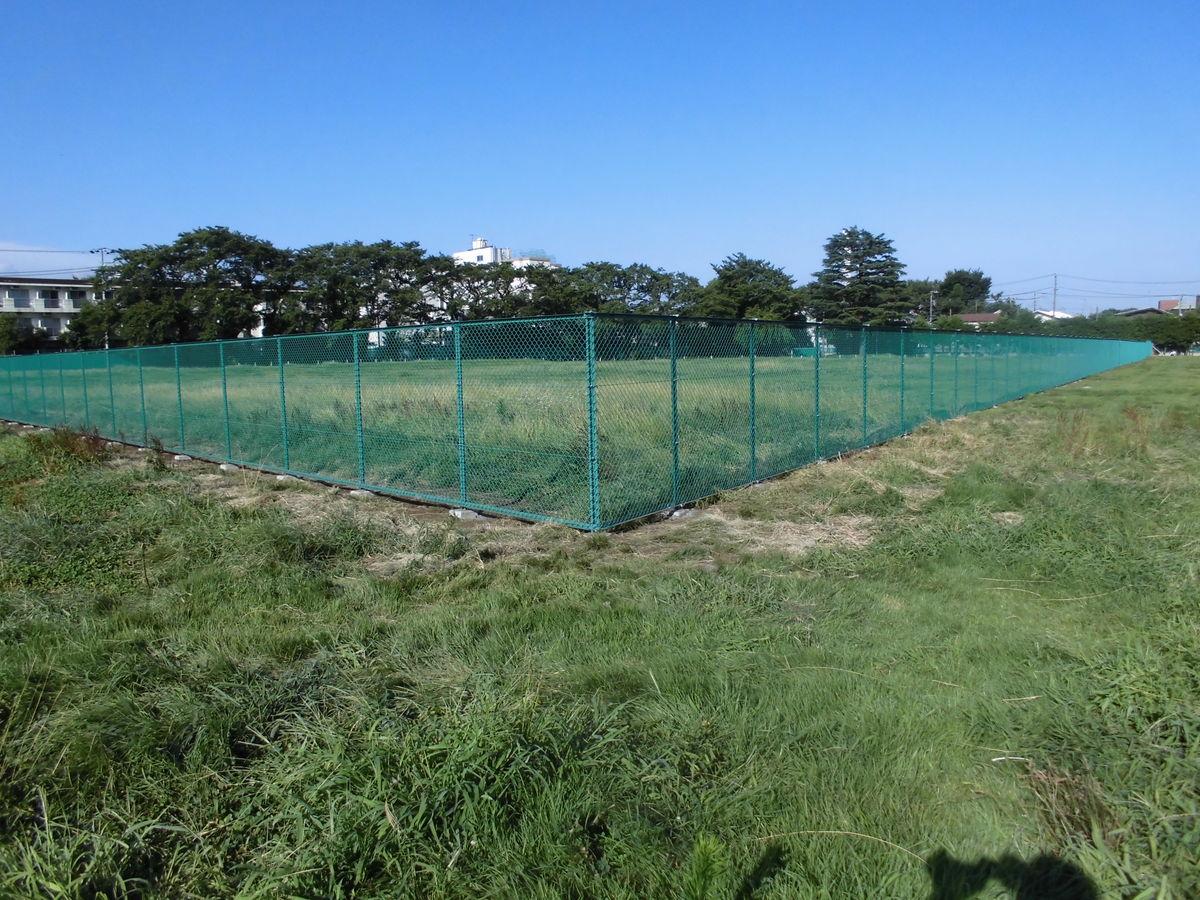 高井戸公園管理柵設置工事