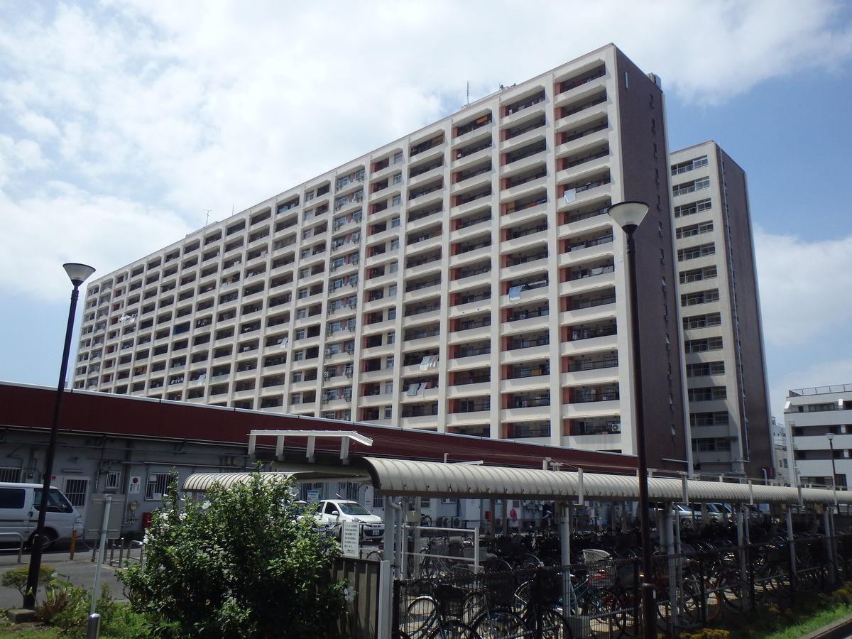 H26-金町駅前団地1・2・3号棟手摺・建具等塗装工事