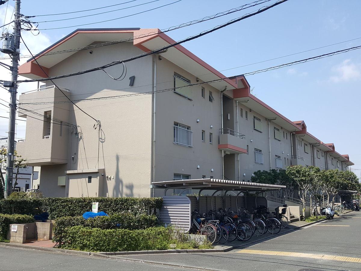 都営国分寺内藤一丁目アパート外壁改修、屋上防水及び鉄部塗装工事