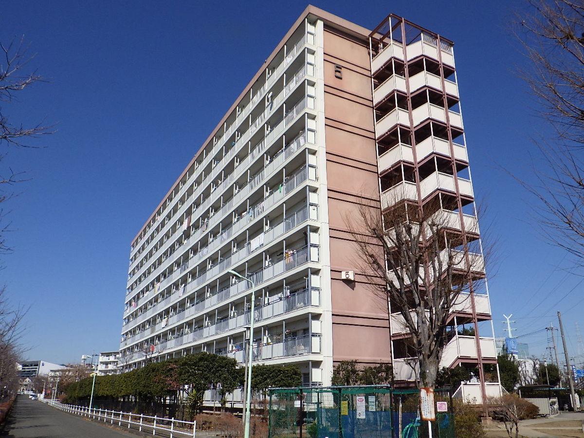 都営成瀬アパート(5号棟)建物補修(鉄骨階段補修)工事