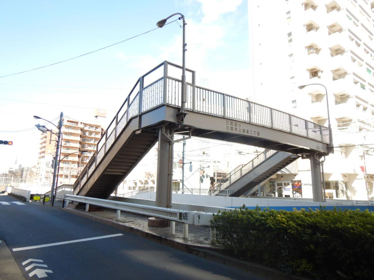 富士見歩道橋維持工事(塗装)